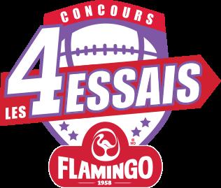 logo concours 4 essais flamingo
