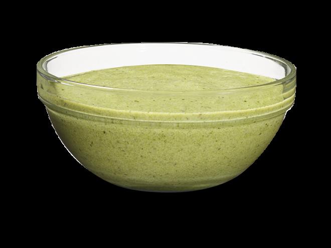 Sauce yogourt au pesto