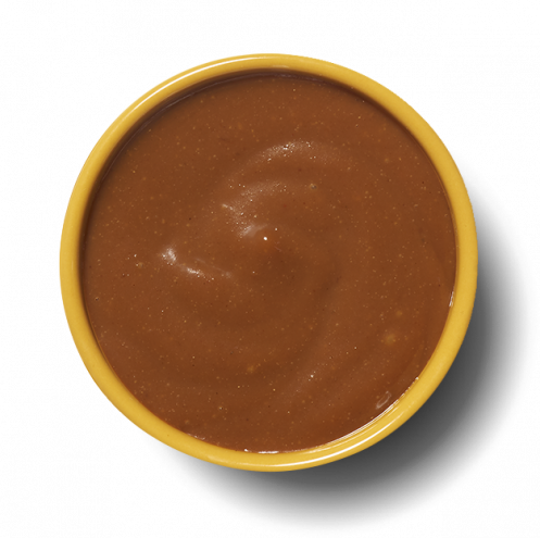 Ginger and peanut sauce