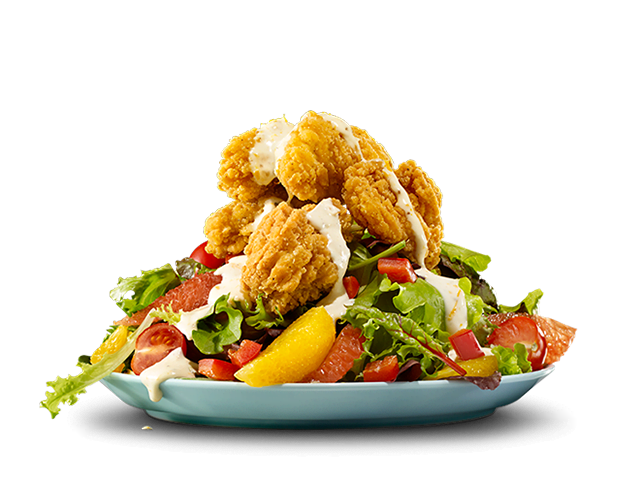 California Salad with Chicken Chunkies